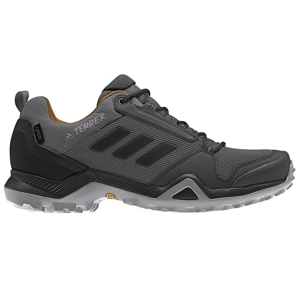 Adidas Terrex AX3 GORE-TEX Hiking Shoe (Men's) - Grey/Black/Mesa