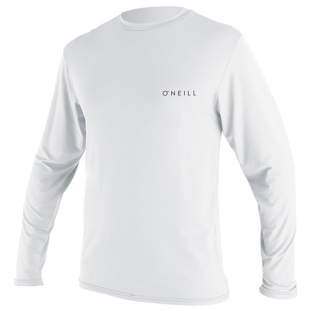 O'Neill Basic Skins Long Sleeve Sun Shirt (Men's) - White