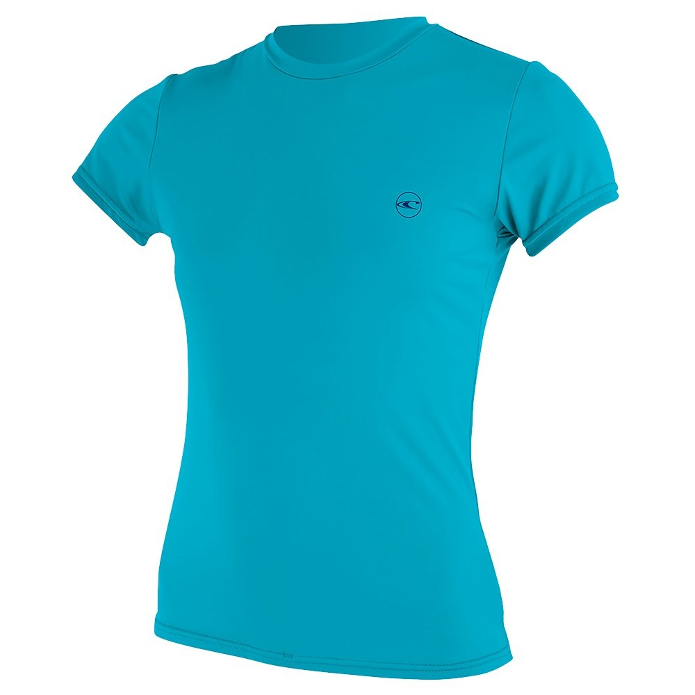O'Neill Basic Skins Short Sleeve Sun Shirt (Women's) - Turquoise