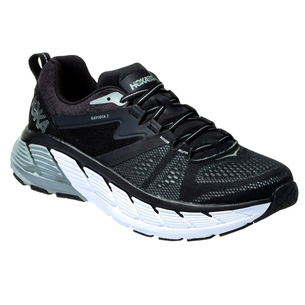Hoka One One Gaviota 2 Running Shoe (Men's) - Black/Wrought Iron