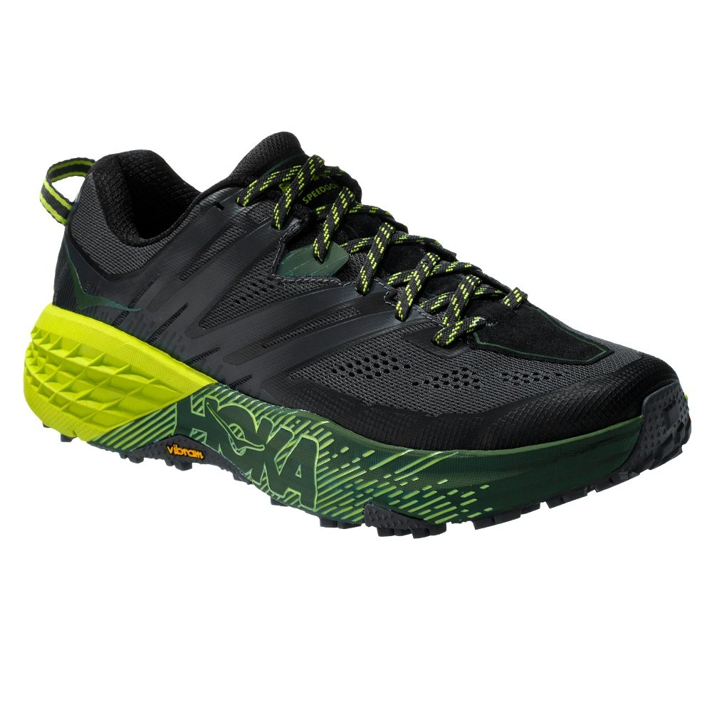 Hoka One One Speedgoat 3 Trail Running Shoe (Men's) - Ebony/Black