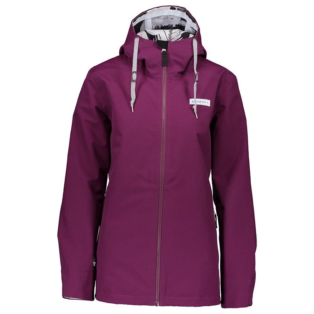 Obermeyer No 4 Shell Ski Jacket (Women's) - Drop the Beet