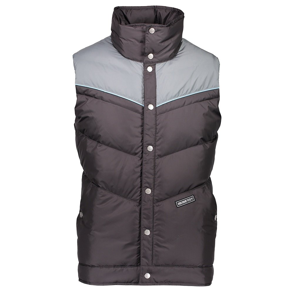 Obermeyer Carson Down Vest (Men's) - Gun Powder
