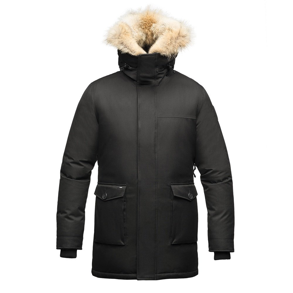 Nobis Yves Down Parka Coat (Men's) - Black