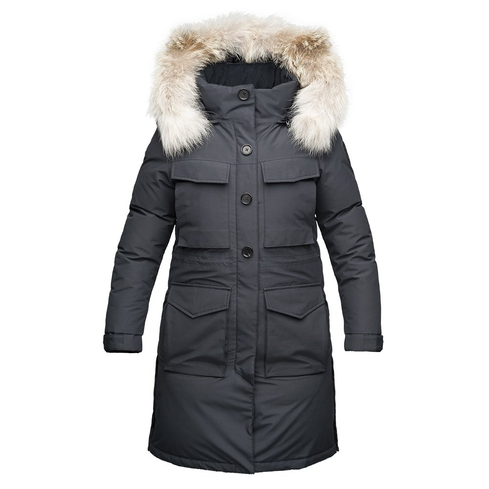 Nobis Ava Down Parka Coat (Women's) - Black