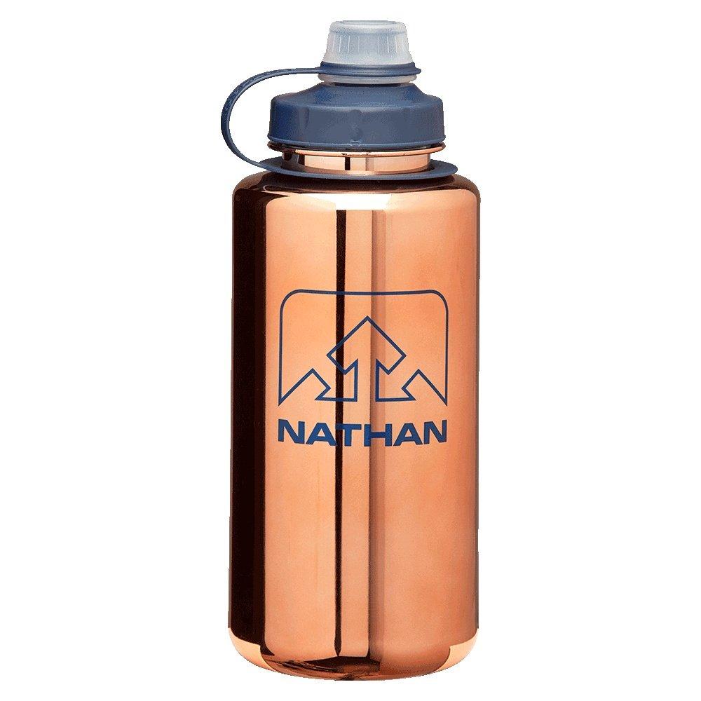 Nathan Big Shot 34oz Water Bottle - Desert Gold/Blue Nights