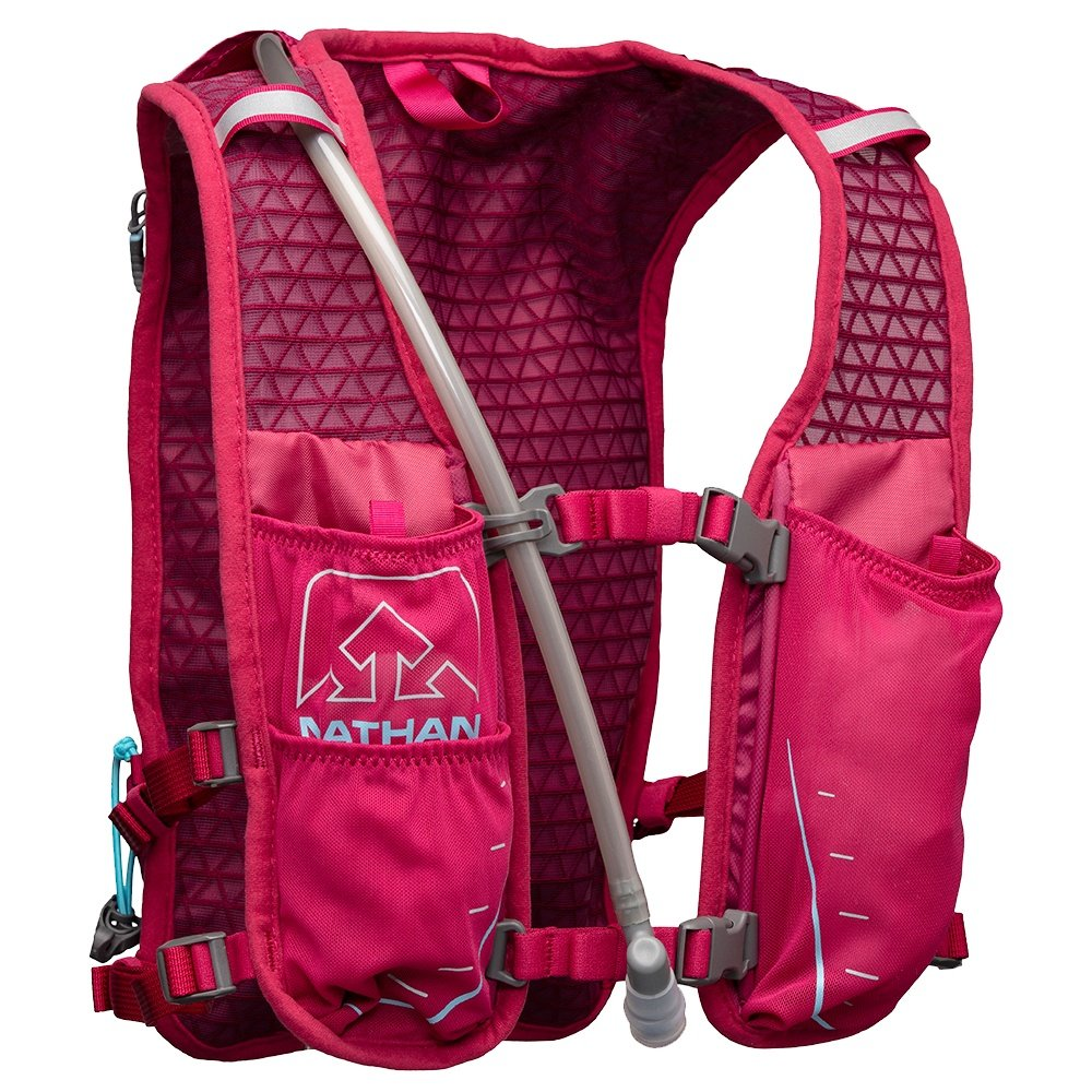 Nathan Trail Mix 7L Race Vest - Sangria/Magenta Purple/Sky Blue