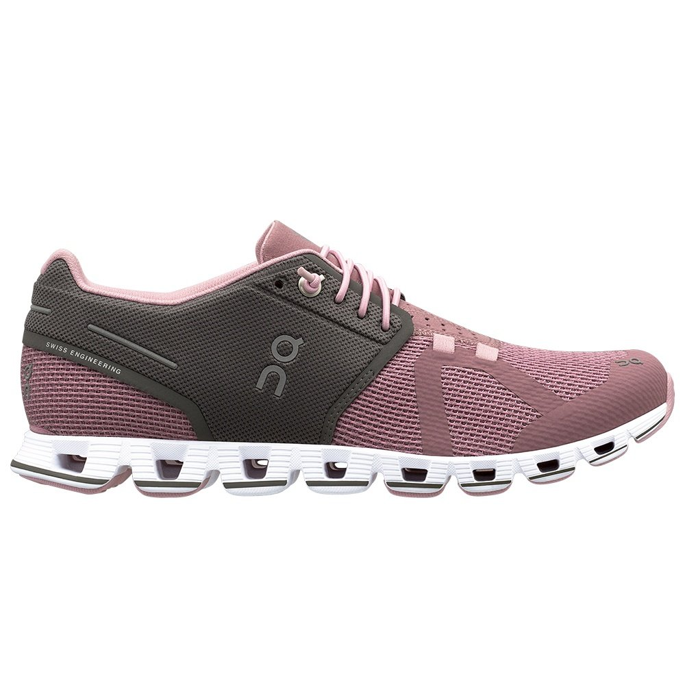 On Cloud Running Shoe (Women's) - Charcoal Rose