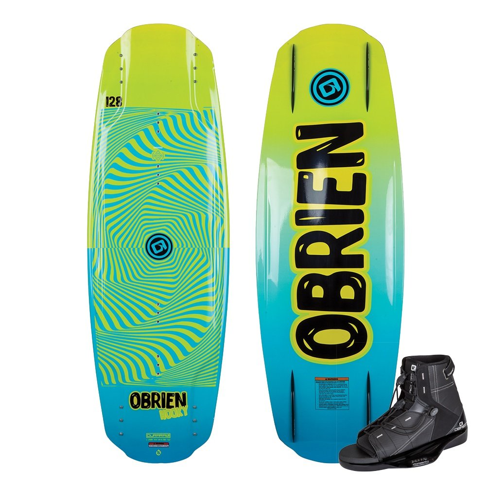 O'Brien Hooky Wakeboard Package with Access 2-5 Boots (Kids') -