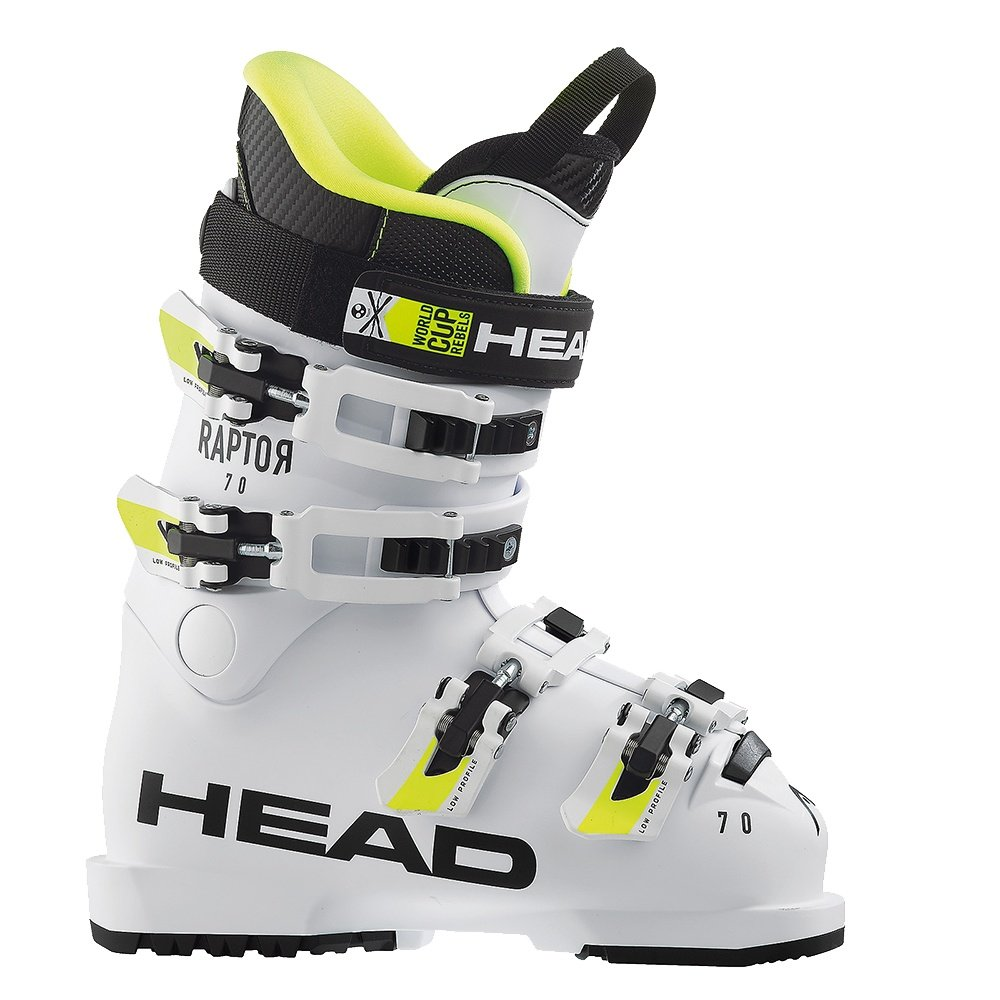 Head Raptor 70 RS Ski Boot (Kids') - White