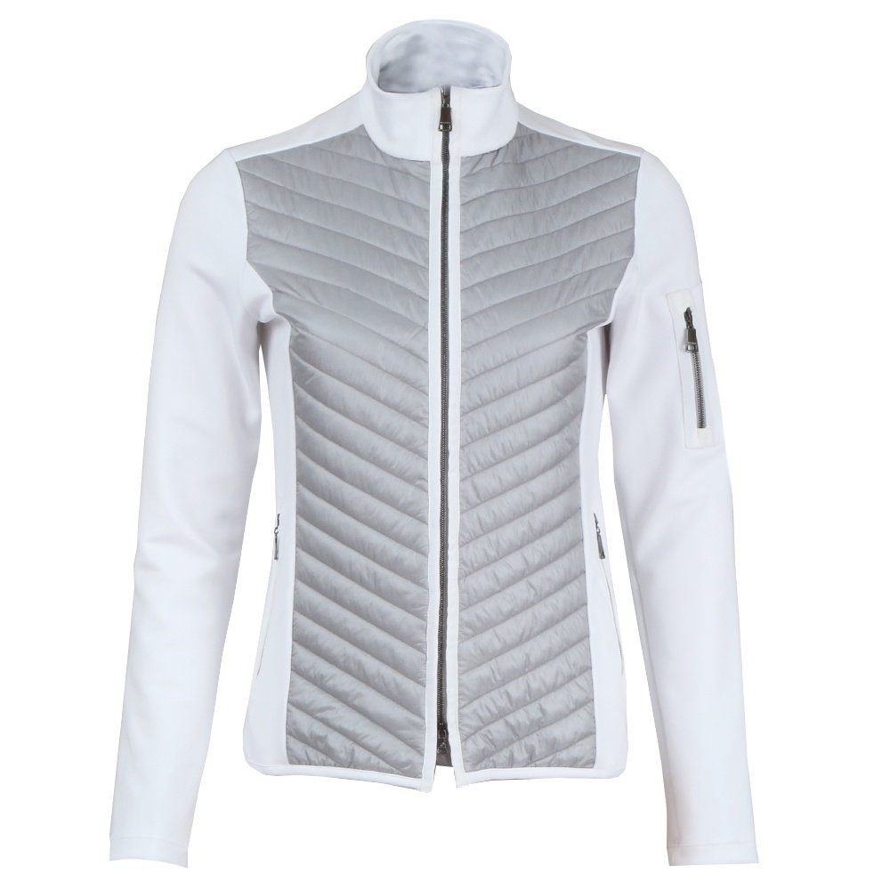 Bogner Gilly Full Zip Jacket (Women's) - White