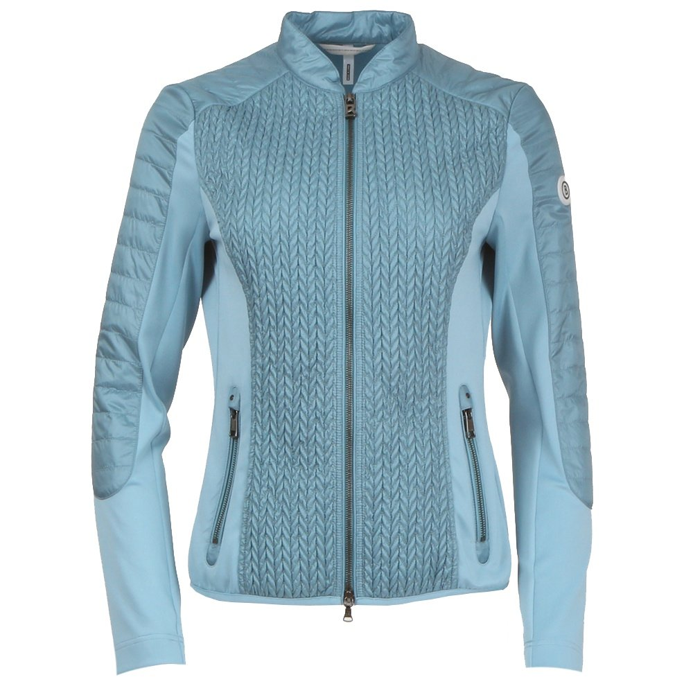 Bogner Mella Full Zip Jacket (Women's) - Slate Blue
