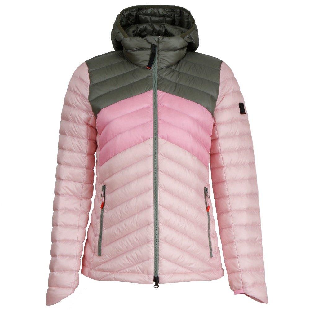Bogner Fire + Ice Franny-D Down Jacket (Women's) - Olive/Rose/Pink
