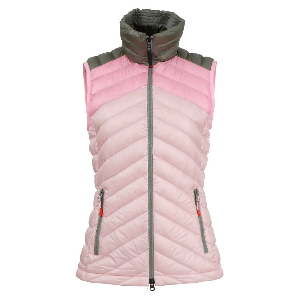 Bogner Fire + Ice Birgit-D Down Vest (Women's) - Olive/Rose/Pink
