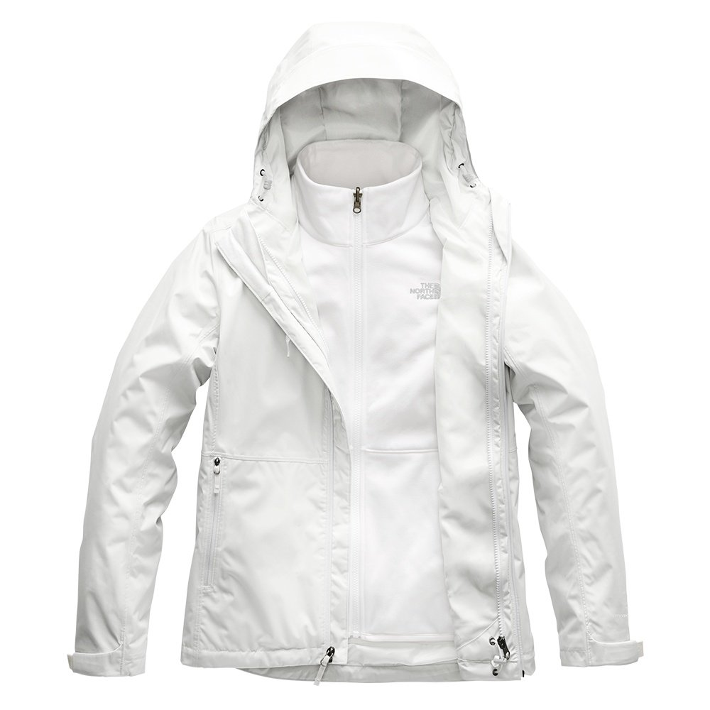 The North Face Arrowood Triclimate Jacket (Women's) - Tin Grey/TNF White