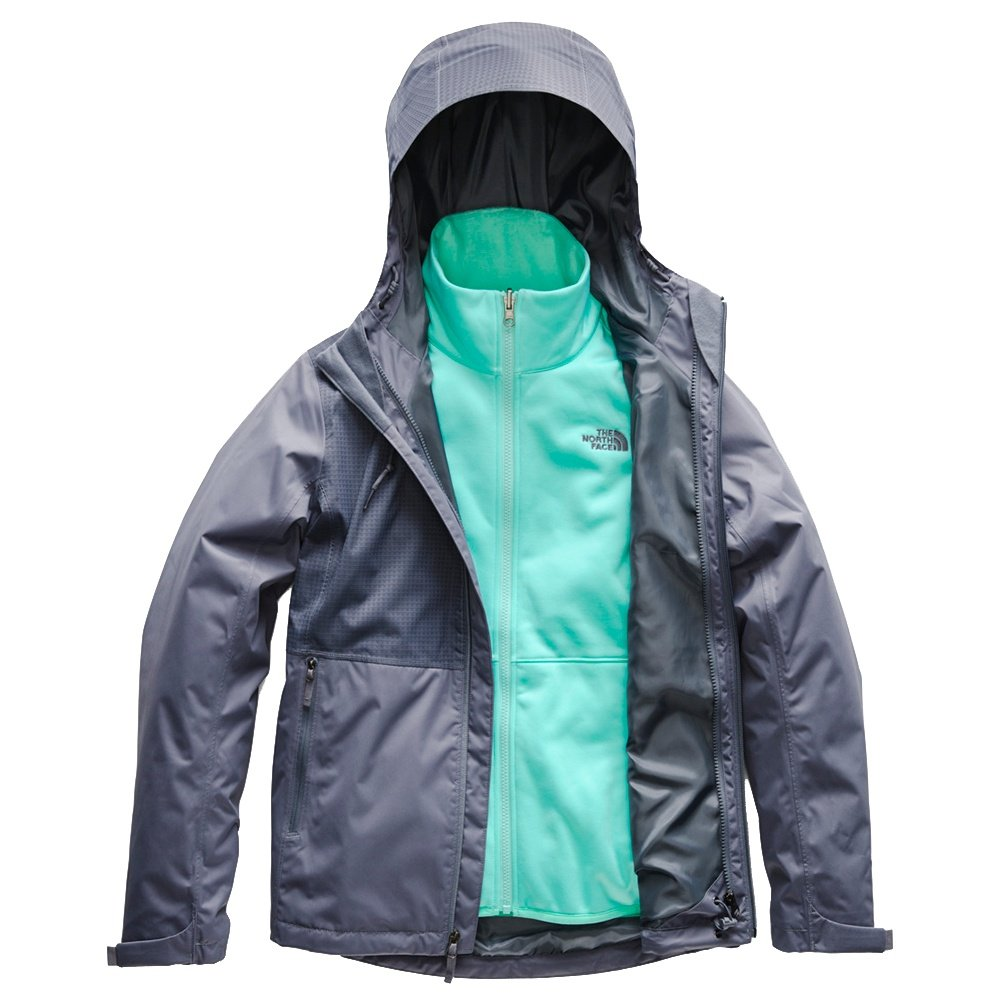 The North Face Arrowood Triclimate Jacket (Women's) - Grisaille Grey/Mountain Dobby