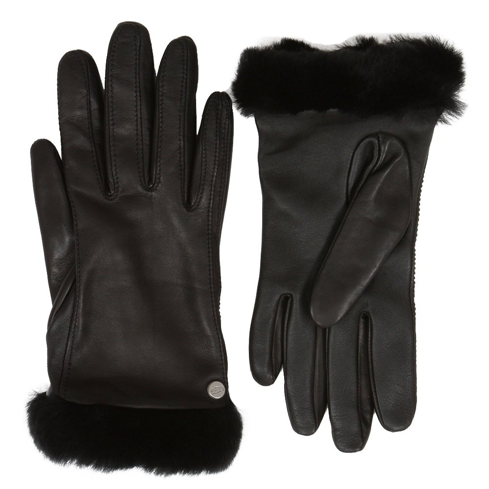 UGG Classic Leather Tech Glove (Women's) - Black