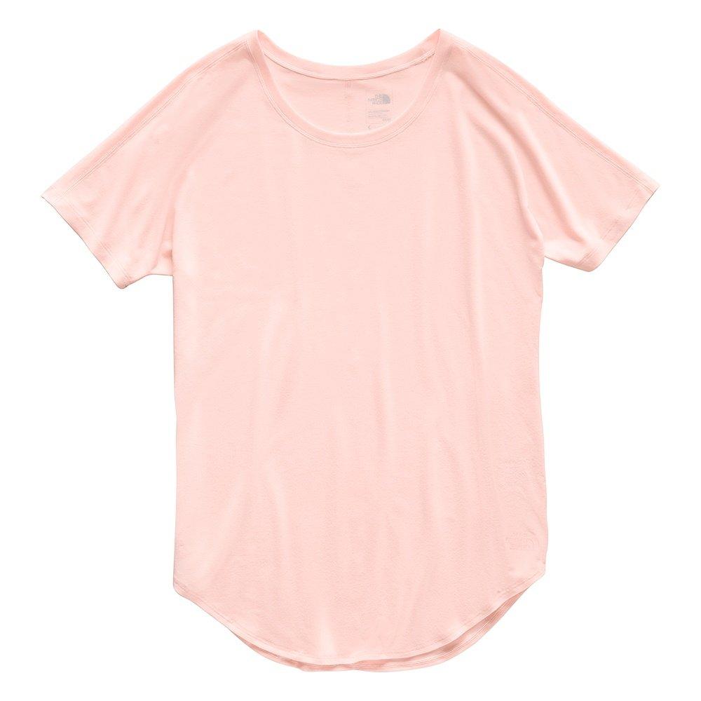 The North Face Workout Short Sleeve Shirt (Women's) - Pink Salt