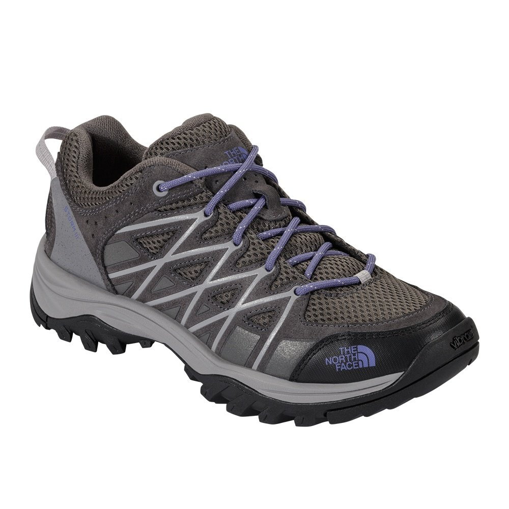 The North Face Storm III Hiking Boot (Women's) - Dark Gull Grey/Marlin Blue