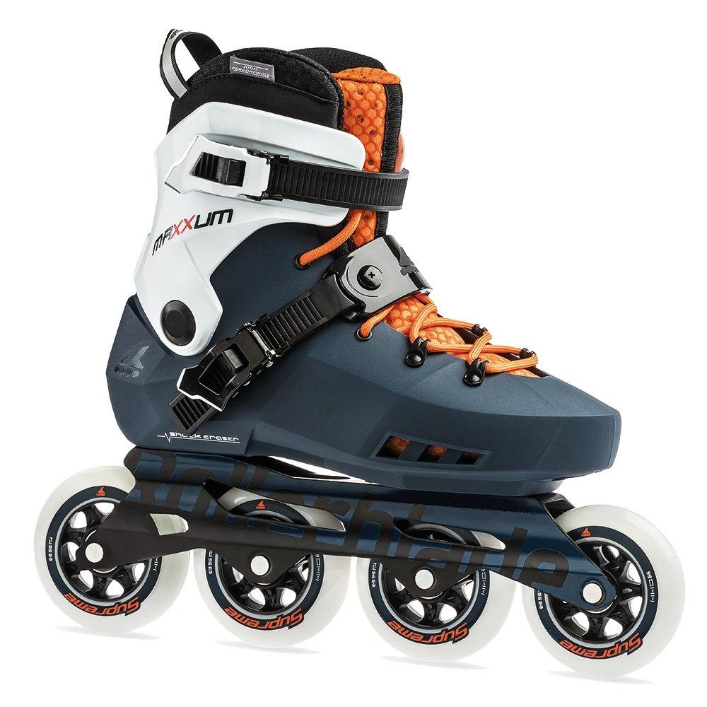 Rollerblade Maxxum Edge 90 Inline Skate (Men's) - Sapphire/Orange