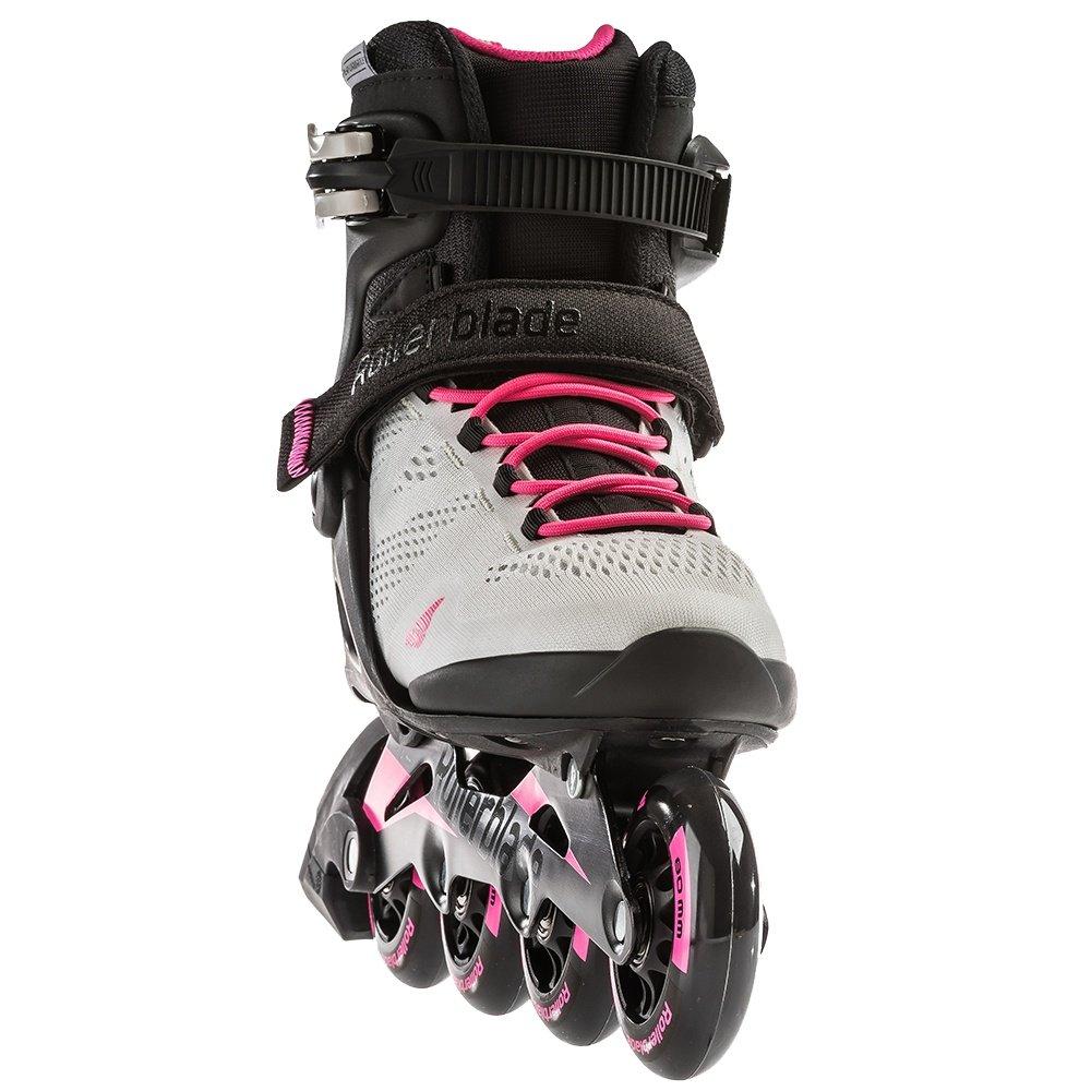 Rollerblade Macroblade 80 Inline Skate (Women's) - Cool Grey/Candy Pink