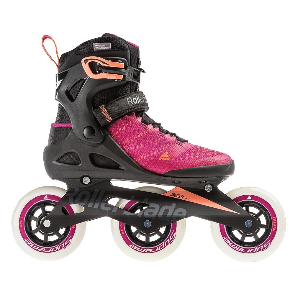 Rollerblade Macroblade 110 3WD Inline Skate (Women's) - Raspberry/Mango