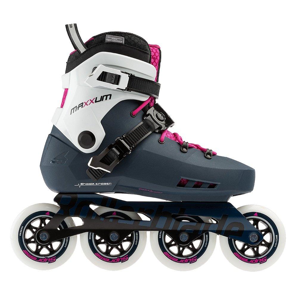 Rollerblade Maxxum Edge 90 Inline Skate (Women's) - Sapphire/Raspberry