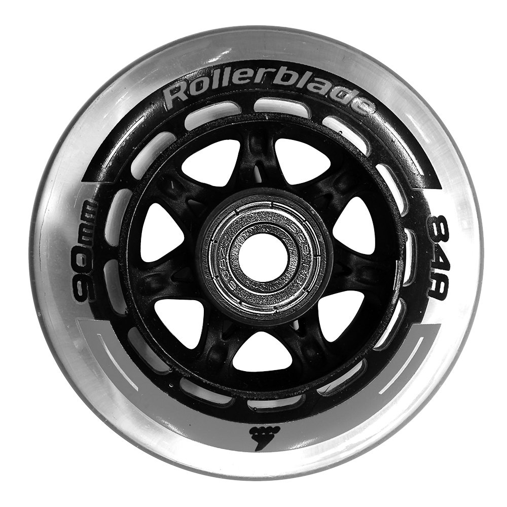 Rollerblade 90mm Wheel Kit - Clear