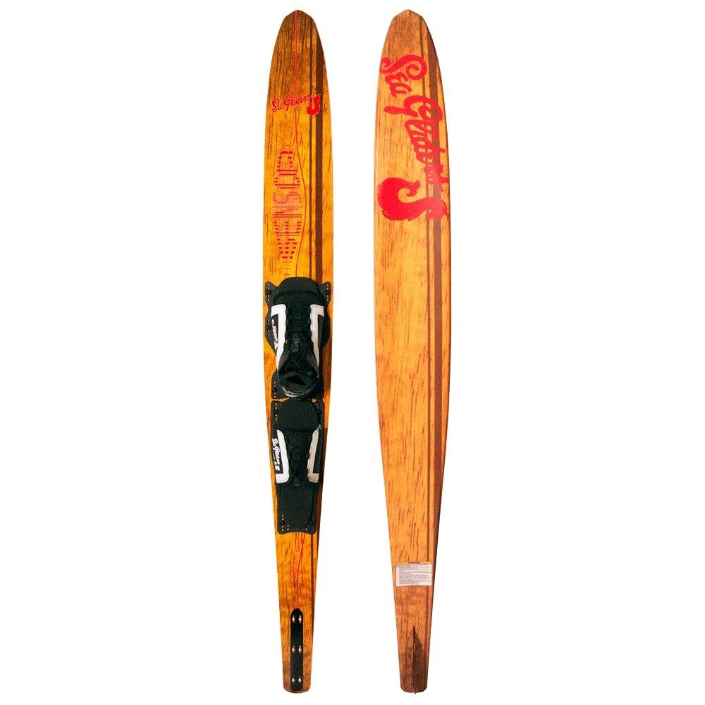 Sea Gliders Retro Slalom Waterski (Men's) - Red