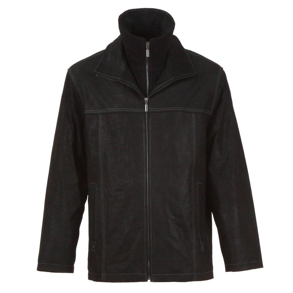 Scully Vintage Leather Jacket (Men's) - Vintage Black