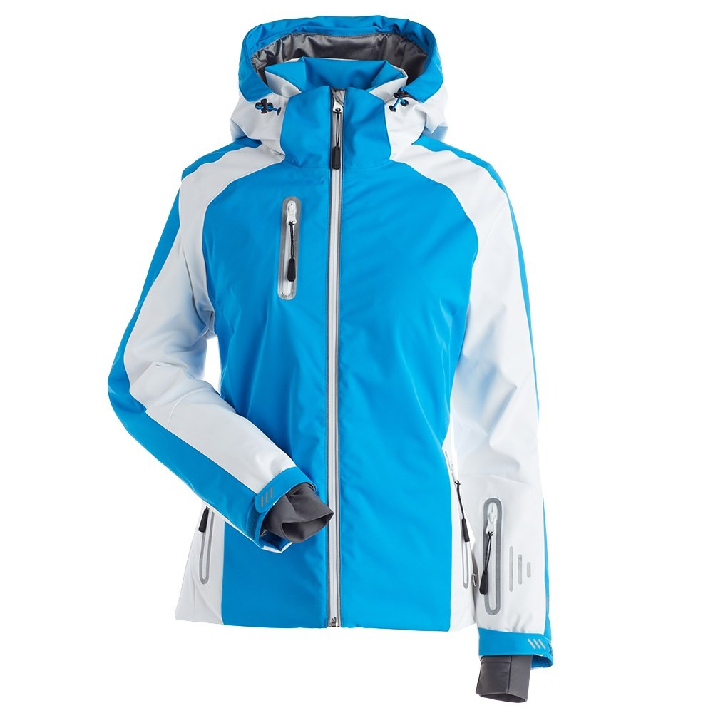 Nils Nikki Insulated Ski Jacket (Women's) - Azure/White