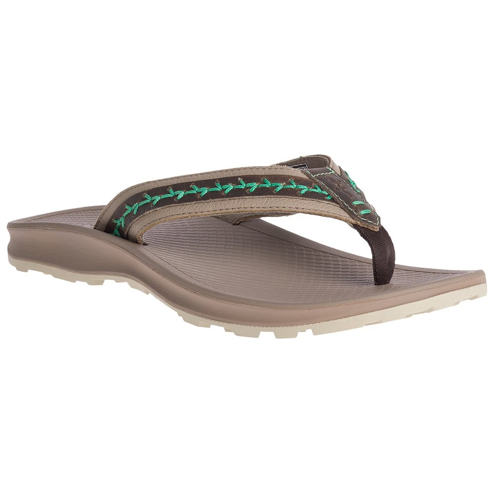 Chaco Playa Pro Leather Thong Sandal (Women's) - Tan