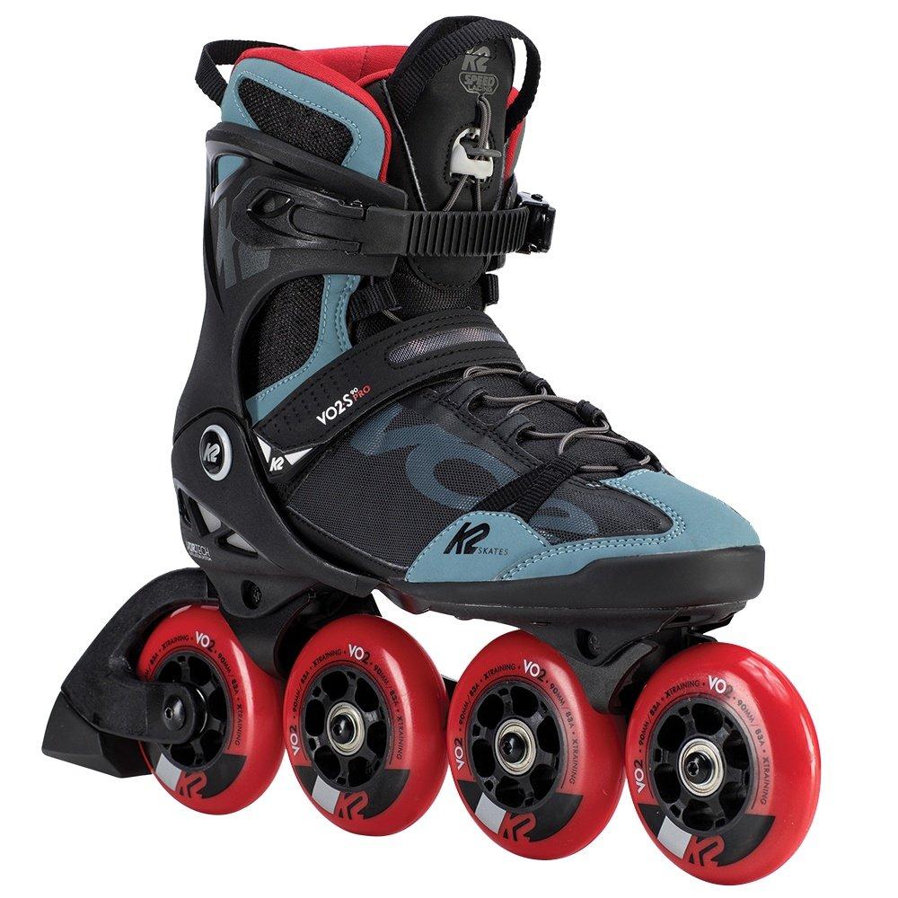 K2 VO2 S 90 Pro Inline Skate (Men's) - Black/Steel/Red