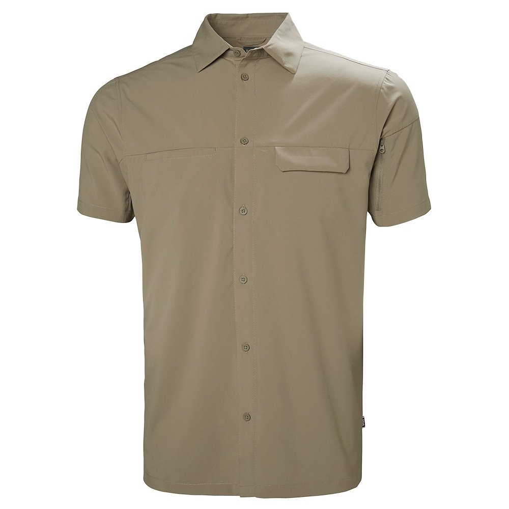Helly Hansen Vernen Short Sleeve Shirt (Men's) - Fallen Rock