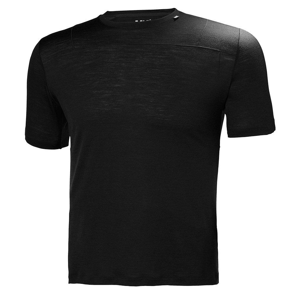 Helly Hansen Merino Light Short Sleeve Shirt (Men's) - HH Black