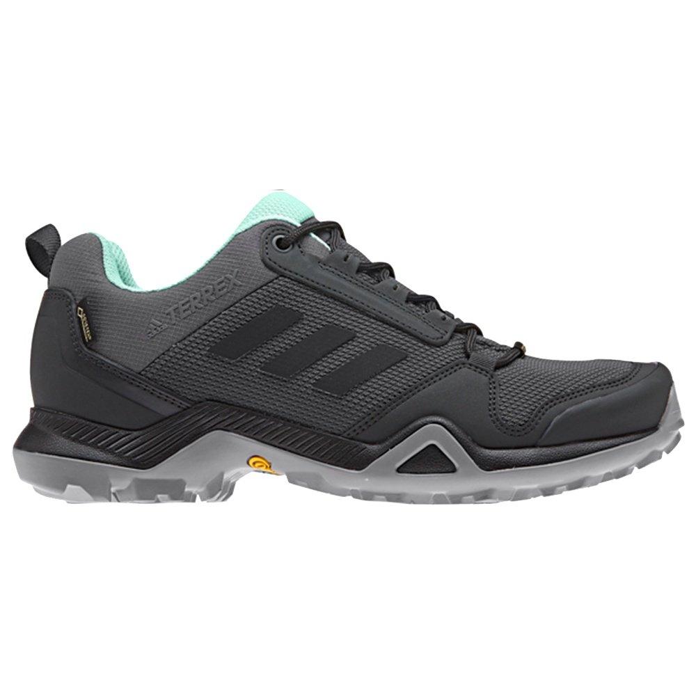 Adidas Terrex AX3 GORE-TEX Hiking Shoe (Women's) - Grey Five/Black/Clear Mint
