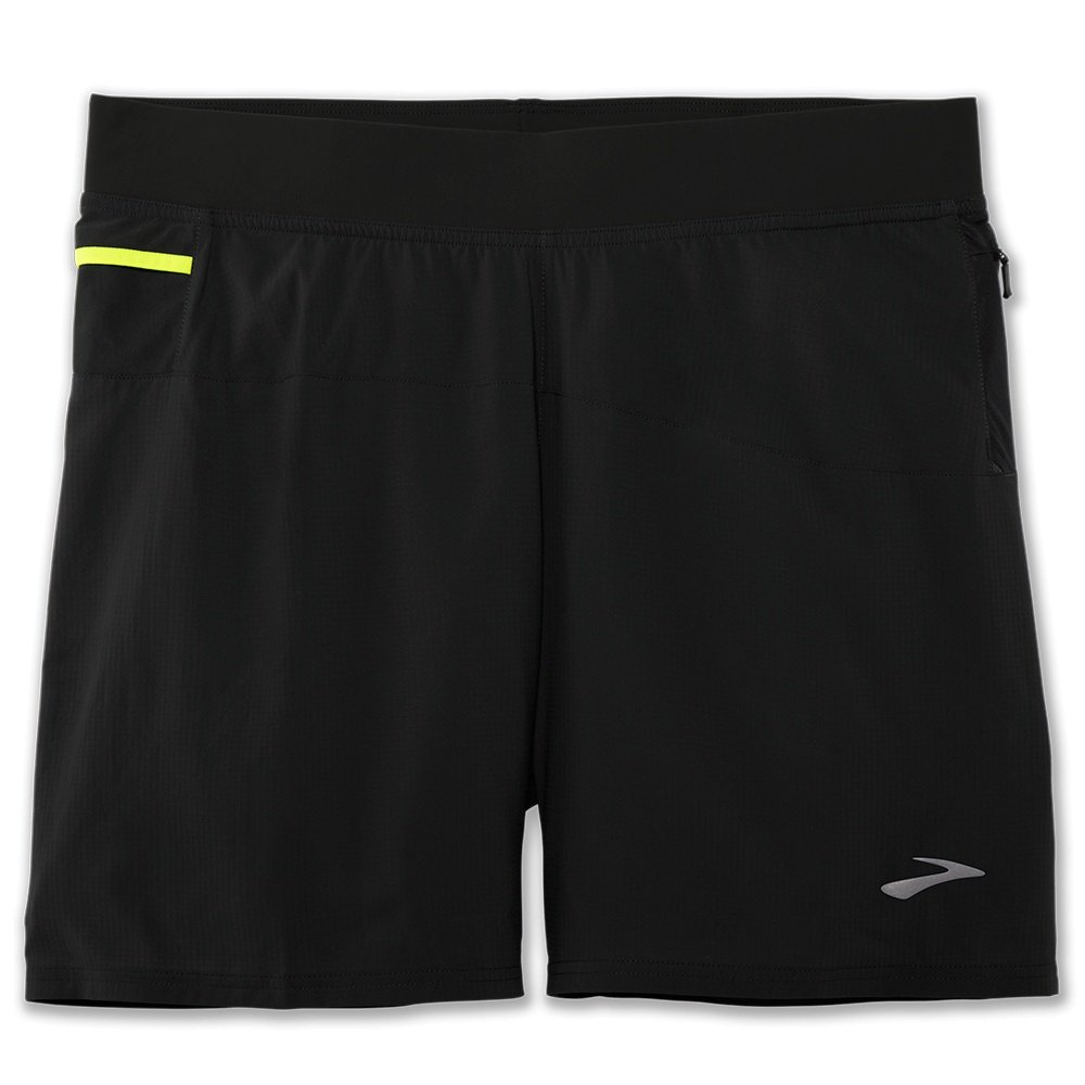 Brooks Cascadia 2-in-1 Short (Men's) - Black