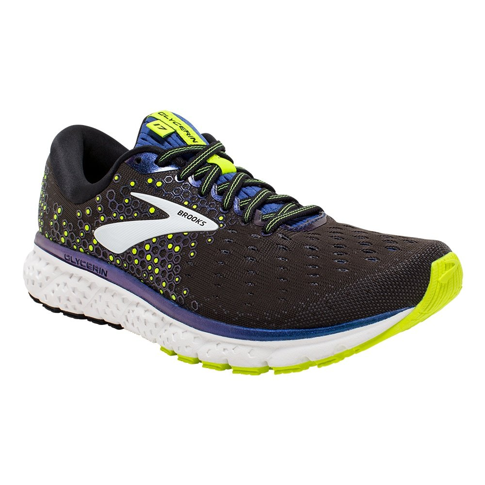 Brooks Glycerin 17 Running Shoe (Men's) - Black/Blue/Nightlife