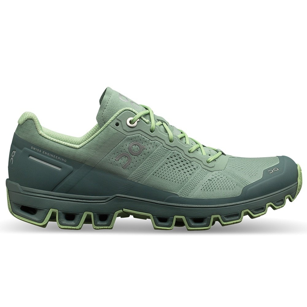 ON Cloudventure II Trail Running Shoe (Women's) - Moss/Olive