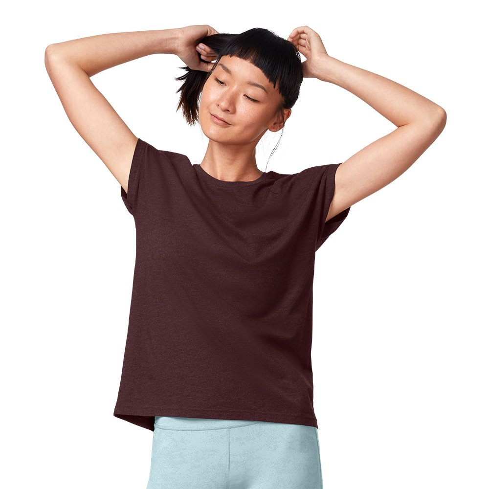On Comfort-T Running Shirt (Men's) - Mulberry