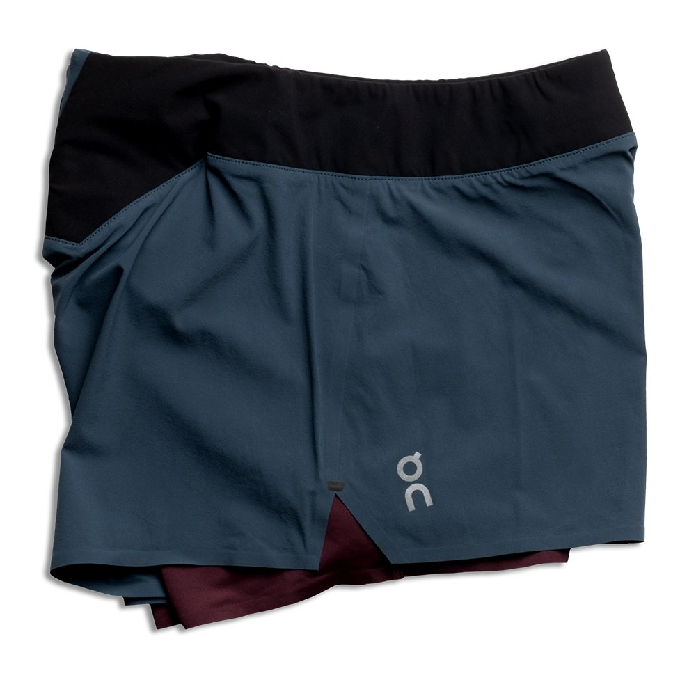 On Running Short (Women's) - Navy/Mulberry