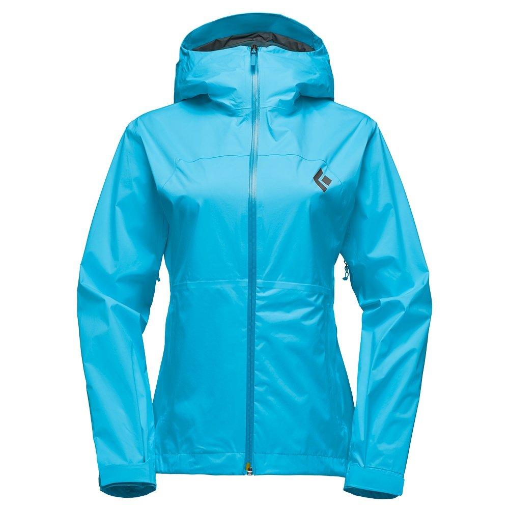 Black Diamond StormLine Stretch Rain Shell Jacket (Women's) - Ocean
