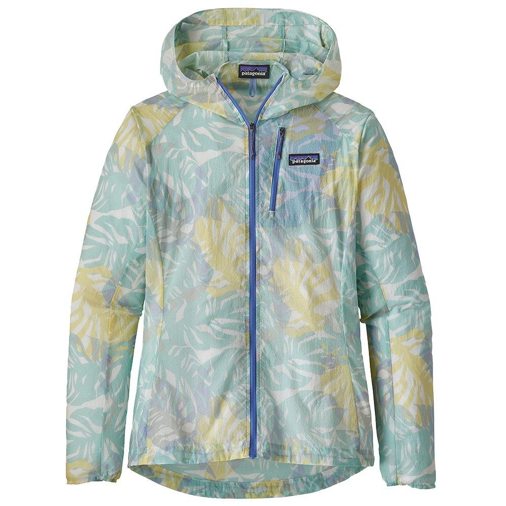Patagonia Houdini Jacket (Women's) - Tarkine Fern/Atoll Blue