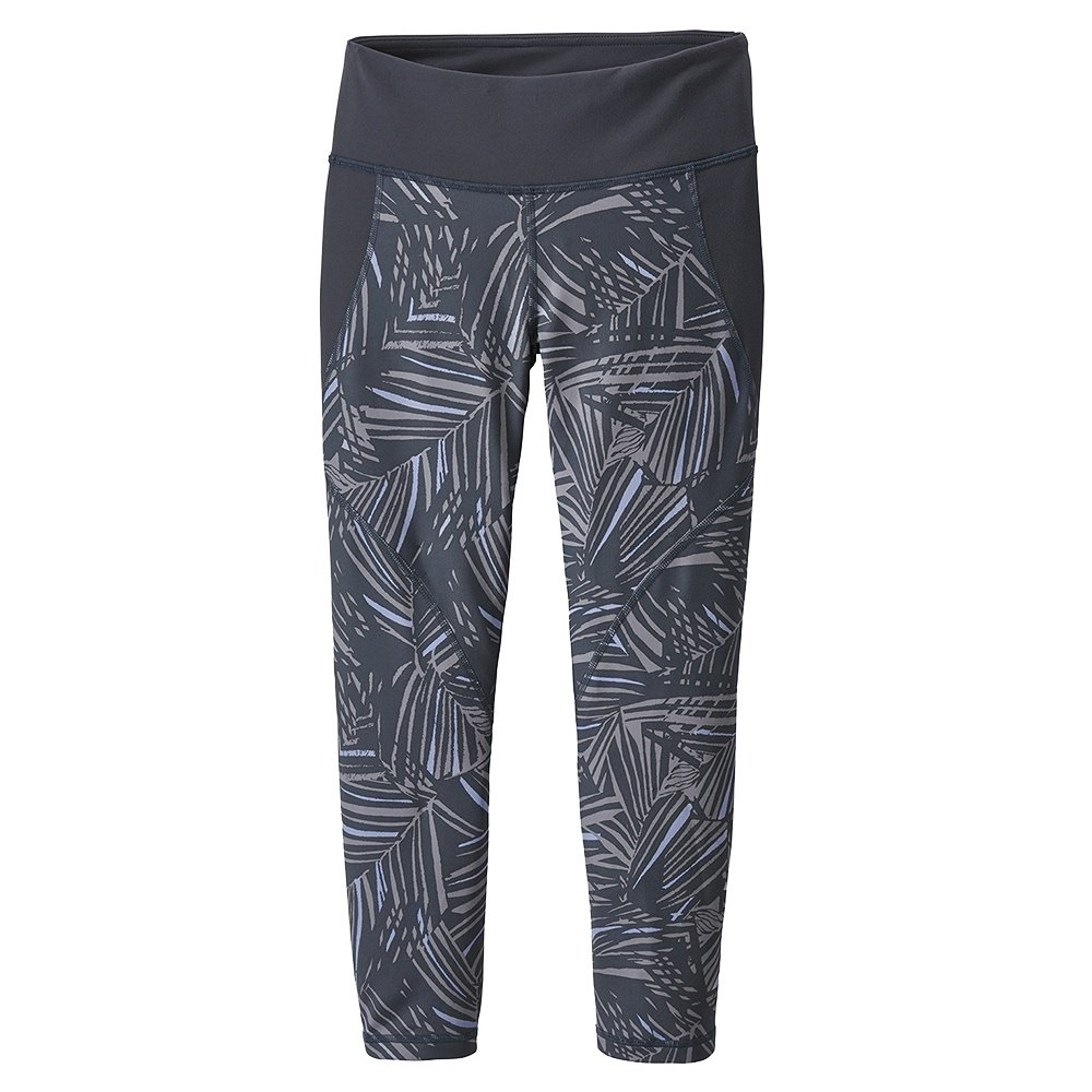 Patagonia Centered Crops Legging (Women's) - Rain Fern/Smolder Blue