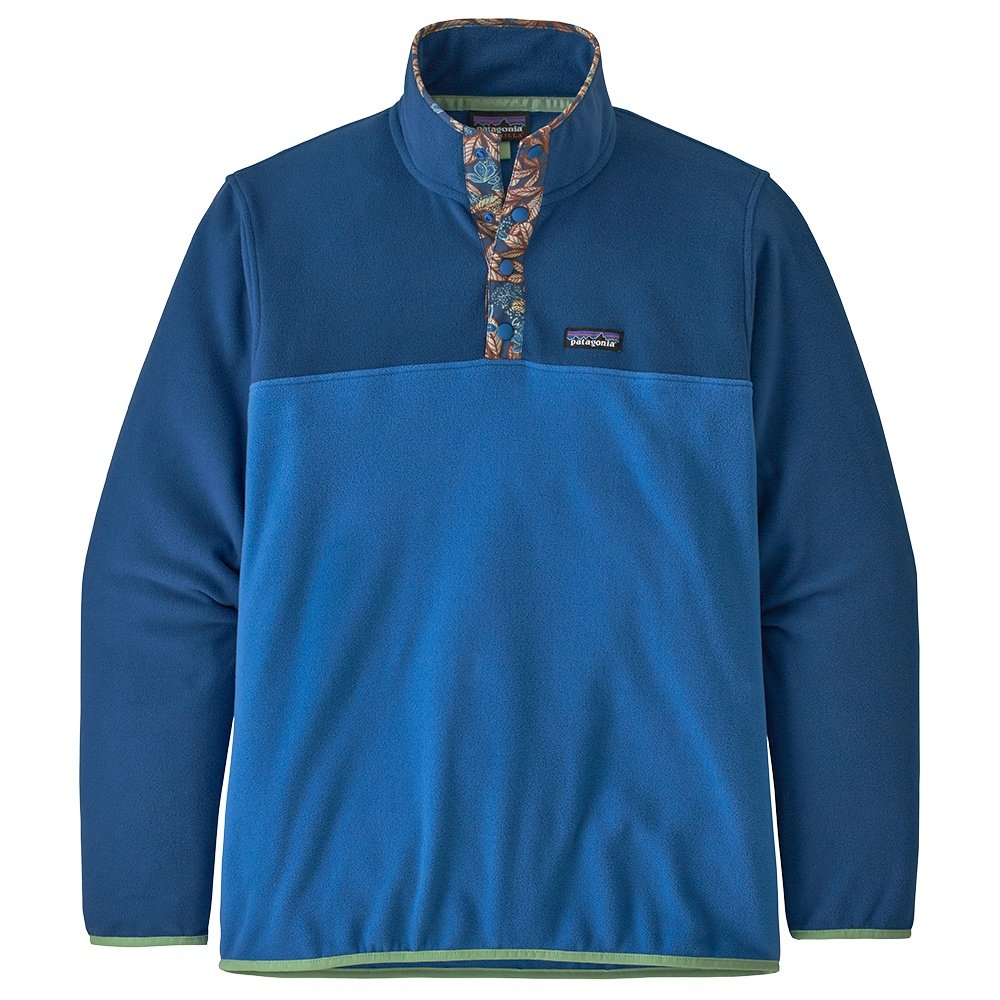 Patagonia Micro D Snap-T Pullover (Men's) - Bayou Blue