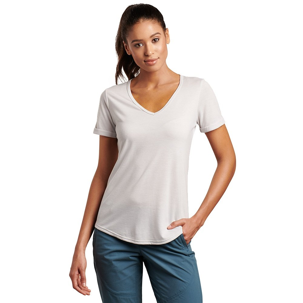 Kuhl Inara Short Sleeve Shirt (Women's) - Cloud