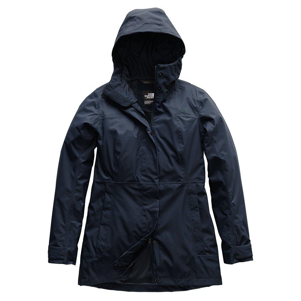 The North Face City Midi Trench Rain Jacket (Women's) - Urban Navy