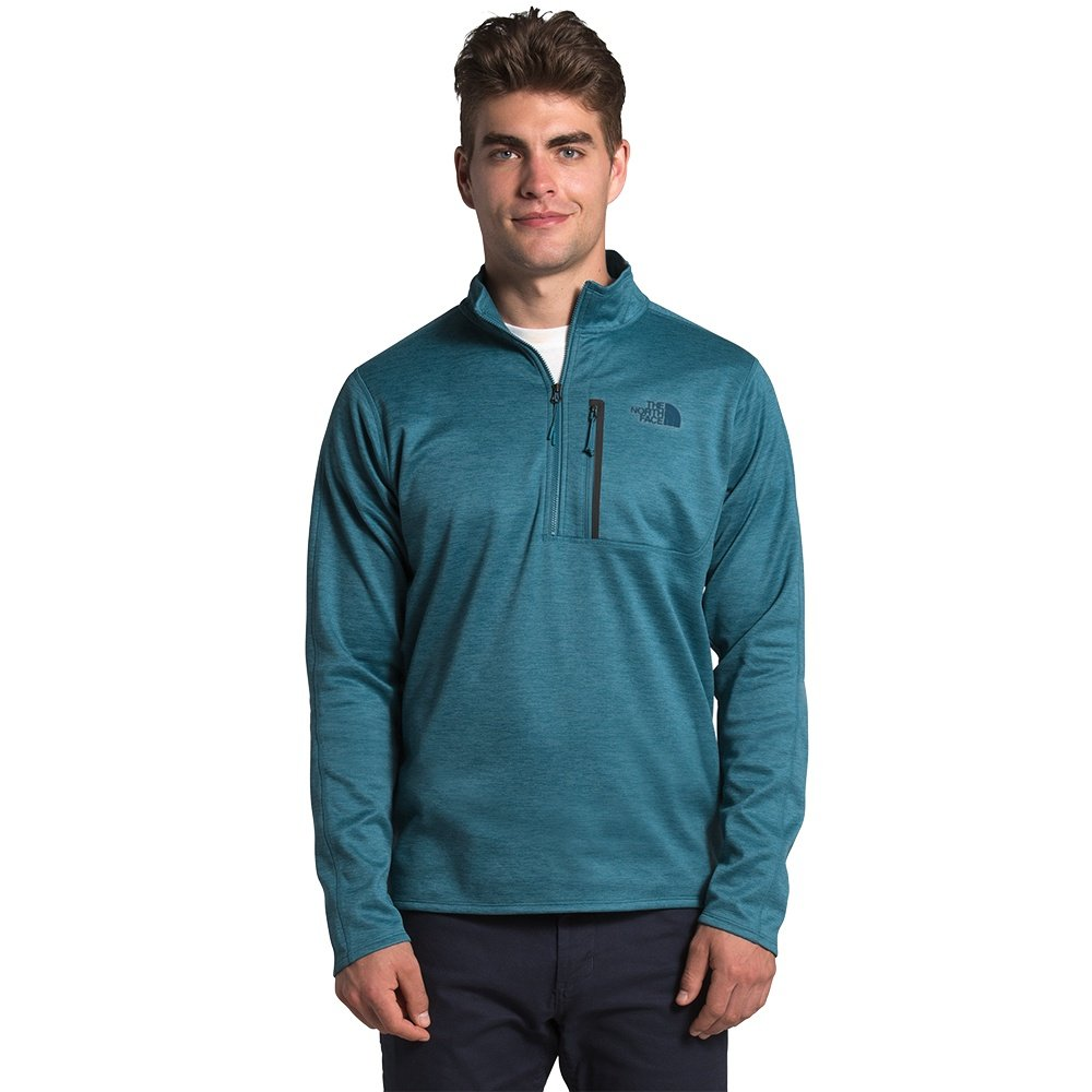 The North Face Canyonlands 1/2-Zip Sweater (Men's) - Mallard Blue Heather