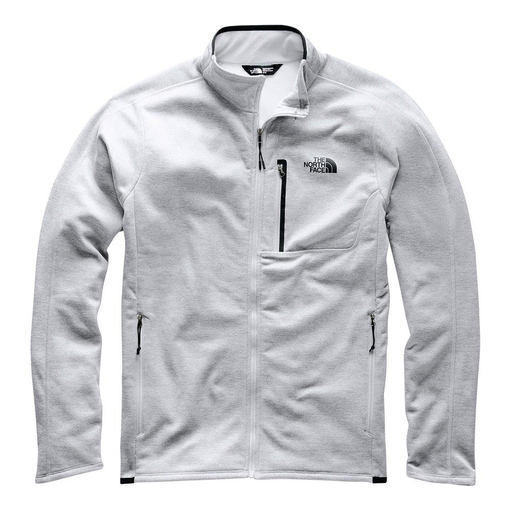The North Face Canyonlands Full Zip Sweater (Men's) - TNF Light Grey
