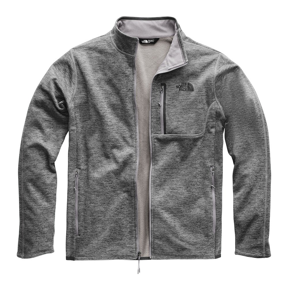 The North Face Canyonlands Full Zip Sweater (Men's) - TNF Medium Grey Heather